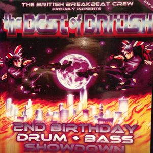 Brockie V's Shy fx Best of British mc's skiba,ragga twins,det,5ive o '2nd birthday showdown' 2001