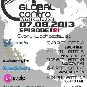 Dan Price - Global Control Episode 121 (07.08.13)