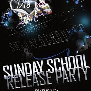 Shoryuken & Needlepoint 1/18/15 Sunday School Release Party