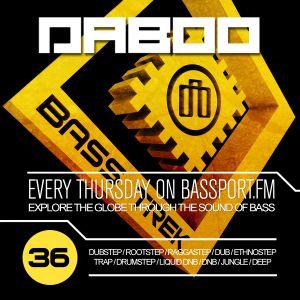 BASS TREK 36 with DJ Daboo on bassport.FM