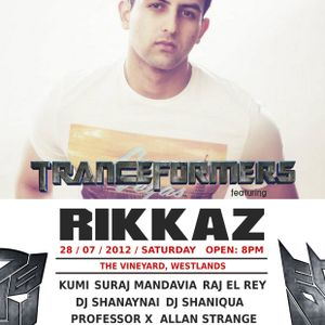 TranceFormers@Vineyard, 28/7/12 - DJ Mosh