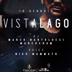 NIKO MAMMATO LIVE ft MARCO BARTOLUCCI dj IN VISTALAGO - TUORO (PG) 18/01/2019