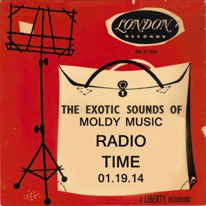 Moldy Music Radio Time 01.19.14
