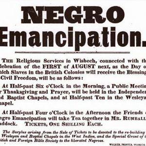Chronophone  - Abolition of Slavery