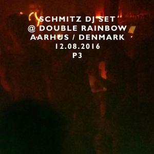 SCHMITZ DJ SET @ DOUBLE RAINBOW AARHUS / DENMARK 12.08.2016 P3