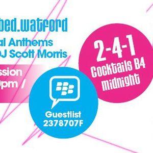 DJ Scott Morris - Live Club Session @ Bed Watford (Gatecrasher) (Halloween Mix 2012)