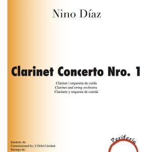 Clarinet concerto nº1 de Nino Díaz