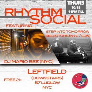 Rhythm Social #1, Mario Bee B2B Minutes of Funk & Joshua Oldsoul, October 15th, 2015