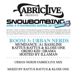 Urban Nerds Snowbombing / Fabriclive mix September 2010 - Mixed by Rattus Rattus & Klose One