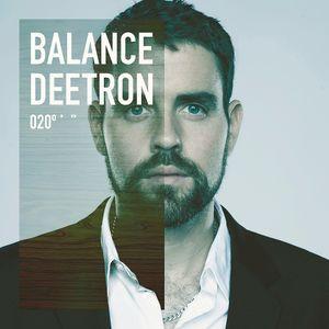 Deetron - Balance 020 CD1 Preview mix