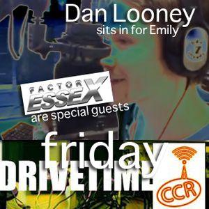 Dan Looney - 04/04/14 - Drivetime - @CCRDrivetime - Chelmsford Community Radio