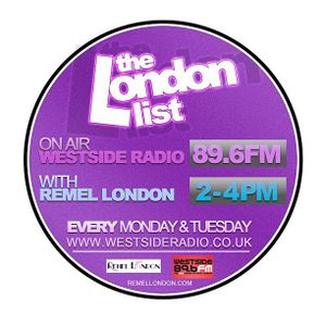 The London List Radio show Tuesday 15th January 2013