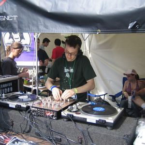 KEITH KEMP DJ set from Nefarious Booth during DEMF, 2005.
