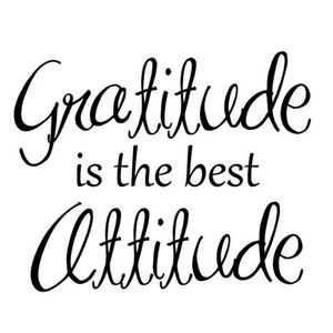 Humpday #9 - GRATITUDE - Your Power to Change Your Life