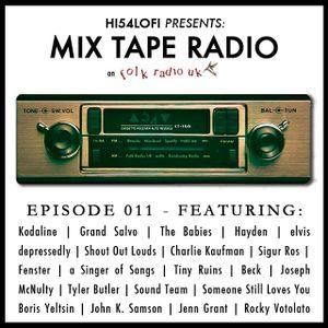 Mix Tape Radio on Folk Radio UK | EPISODE 011