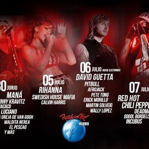 Afrojack - Live @ Rock in Rio Madrid, Madrid, Espanha (06.07.2012)