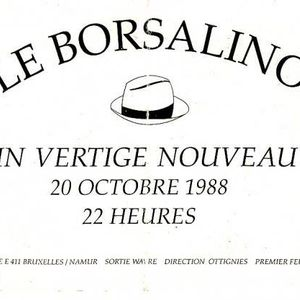 House Mix @ Borsalino Wavre - Side A - 1992