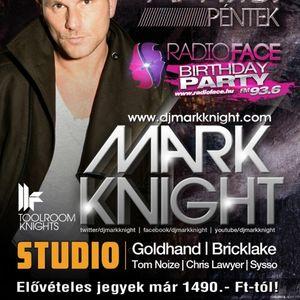 Goldhand & Bricklake & Tom Noize - Live @ Studio Budapest Radio Face Birthday Party 2012.04.13.