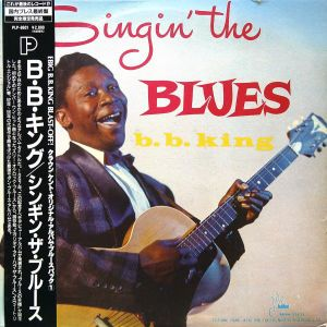 B.B. King – Singin' The Blues  1991  Japan (US 1956)