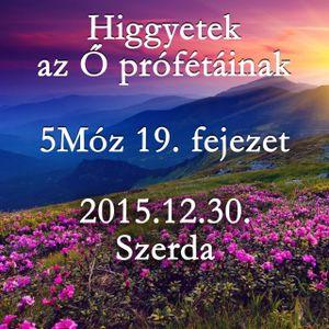 [BLOCKED] 171. - 5Moz 19. fejezet - 2015.12.30. Szerda
