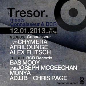 Bas Mooy - Live @ BCR_labelnight, Tresor, Berlin (12-01-2013)