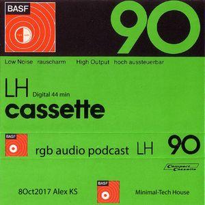 RGB Audio Podcast #14 Alex KS - Oct 2017(Digital cassette LH 90)