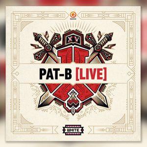 Pat B [live] at Defqon 1 2017 (White)