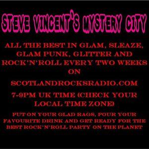 STEVE VINCENT'S MYSTERY CITY 30/03/2021