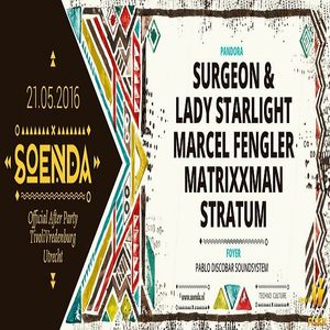 Surgeon & Lady Starlight (Live PA) @ Soenda Official After Party - Tivoli Utrecht - 21.05.2016