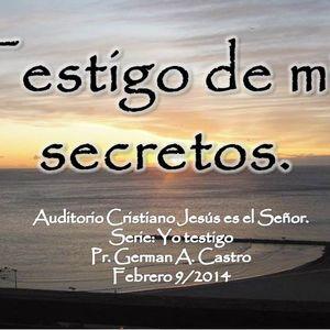 TESTIGO DE MIS SECRETOS