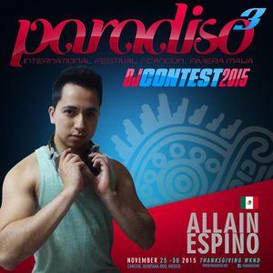 Paradiso DJ CONTEST 2015 By Allain Espino