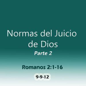 Normas del Juicio de Dios Parte 2