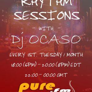 Dj Ocaso - Night Rhythm Sessions 001 [August 3 2010] on Pure.Fm