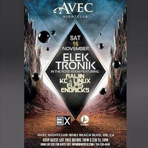 Elpis Live @ Avec Nightclub 11.16.2013