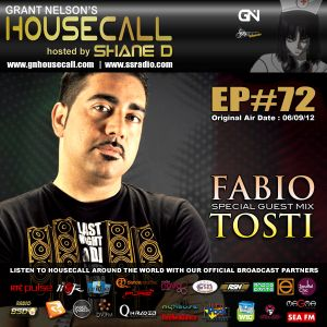 Housecall EP#72 (incl. a guest mix from Fabio Tosti)