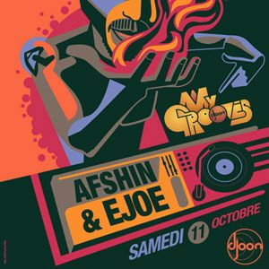 Ejoe Wilson @ My Grooves, Djoon, Saturday October 11th, 2014