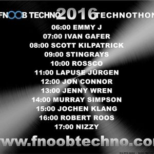 Jenny Wren One hour special for the FNOOB 2016 Technothon (air date 26.03.16) @ www.fnoobtechno.com