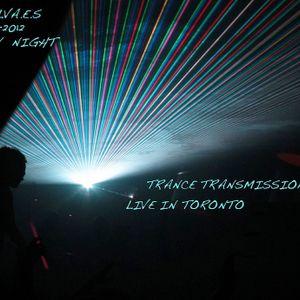 DJ SALVA.E.S Trance Transmission Ep 22 live in Toronto