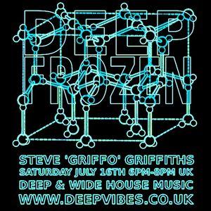 DEEP FROZEN - STEVE GRIFFO GRIFFITHS (MABUK RECORDINGS) - JULY 2016 - DEEP VIBES RADIO