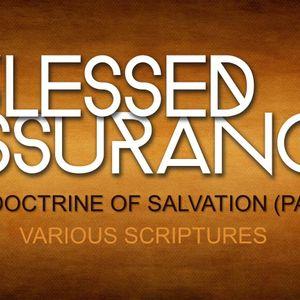 The Doctrine of Salvation (Part 1) (Audio)