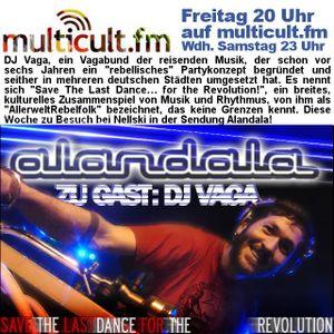 MULTICULT.FM | Alandala | mit Nellski und DJ Vaga zu Gast | 2013-01-11