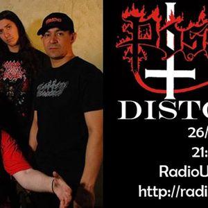 DISTORXION INTERVIEW POSSESSED 26/AGO/2012