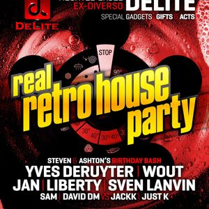 Real Retro House 14 December 2013 - Set 7 - DJ Yves Deruyter
