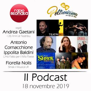 Poltronissima 5x17 - 18.11.2019 Andrea Gaetani Antonio Cornacchione Ippolita Baldini Fiorella Nolis