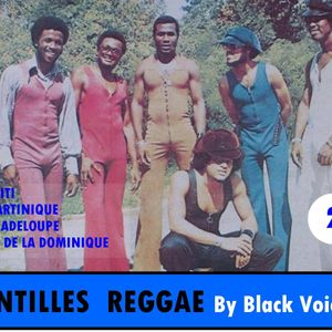 ANTILLES REGGAE N°2 années 70  By BLACK VOICES  (BESANCON)  100% VINYLES