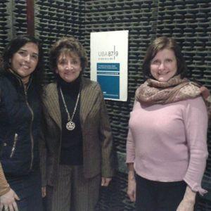 Dra. María Teresa Moya Presidenta de la Comisión de Derecho y Relaciones Internacionales.