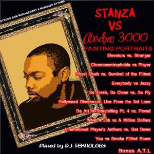 DJ Teknology Presents Stanza vs Andre 3000: Painting Portraits Series