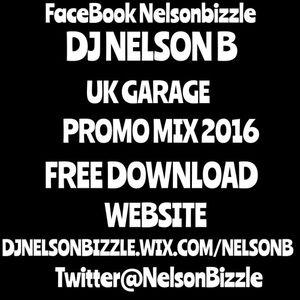 NELSON B PROMO UK GARAGE MIX 2016