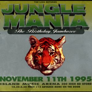 DJ Hype w/ MC Rhyme tyme & MC MC - Jungle Mania 'Birthday Jamboree - 11.11.95