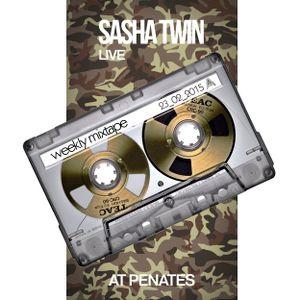 Sasha Twin - Weekly Mixtape @ Penates 23_02_2015